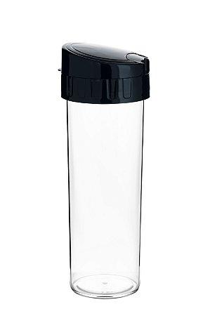 GARRAFA 450ML ECO WATER PRETA - UN X 1