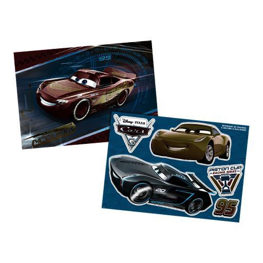 PAINEL 126X88CM CARS 3 - UN X 1