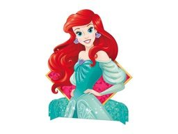 PERSONAGEM DEC C/1 UND PRINCES AMIG ARIEL - PC X 1
