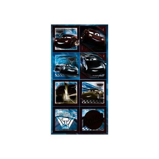 ADESIVO DEC QUADRADO GDE CARS 3 - PC X 1