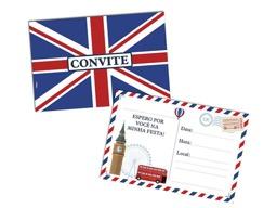 CONVITE PEQ C/8 LONDRES - PC X 1