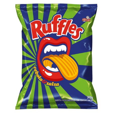 RUFFLES 30G CEBOLA E SALSA