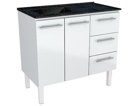 Armário de Cozinha Aço Vênus Flat