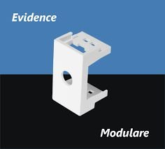 Módulo Saída de Fio de 10mm - Modulare / Evidence