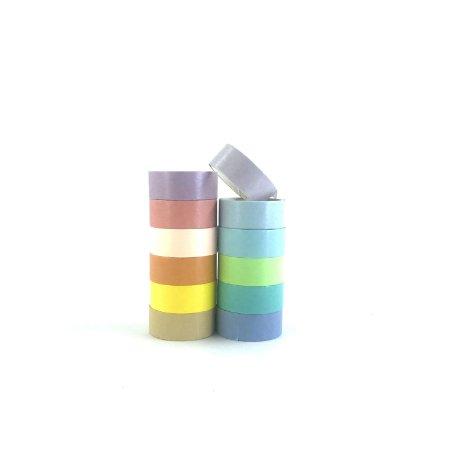 Fitas Adesivas Decorativas Sortidas - Washi Tape