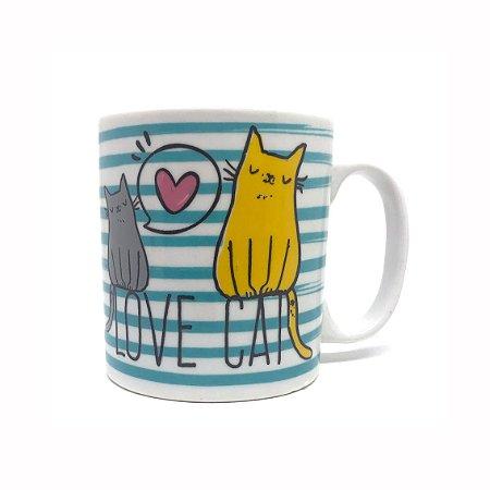 Caneca Love Cat