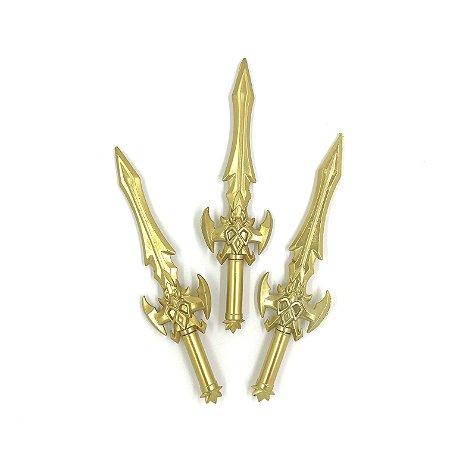 Caneta Espada Dourada - 1 unidade