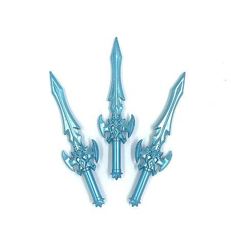 Caneta Espada Azul - 1 unidade