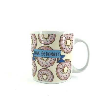 Caneca Love Donuts