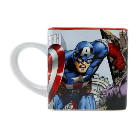 Caneca Cubo Avengers