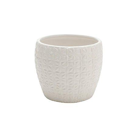 Cachepot Ceramica Pattern Basic G
