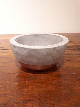 Cachepot Cerâmica P cz/cob 6x13cm