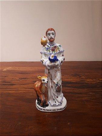 São Francisco Porcelana Branco 27x11cm