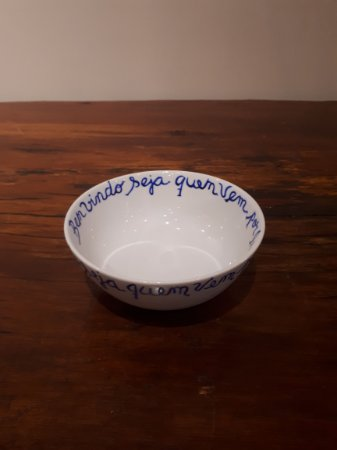 Bowl Porcelana Portuguesa branco