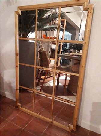 Espelho Bisotado c/ Moldura 120x80cm