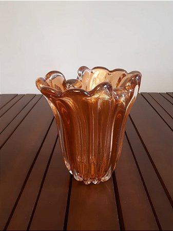 Vaso Cristal Di Murano P lar/our 29x19cm