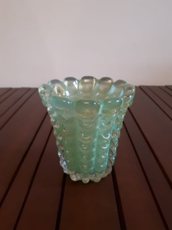 Vaso Cristal Di Murano vde 16x13cm