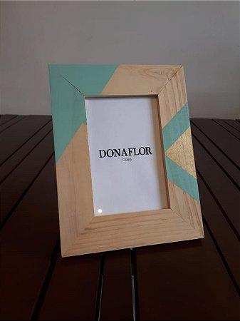 Porta Retrato madeira Bright vde 10x15cm