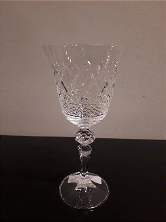 Taça Cristal Vinho Branco Bico Jaca  170ml