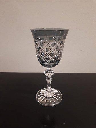 Taça Cristal Vinho cz 8x8x16cm