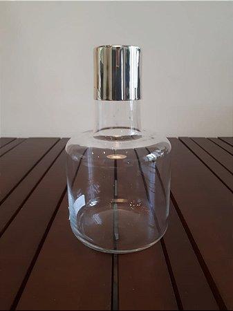 Garrafa c/ Tampa vidro P 22x10cm