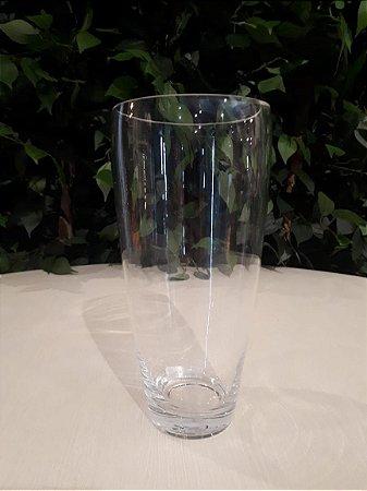Vaso Vidro A Lotte Transparente 14x28cm