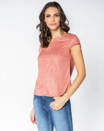 Camiseta Pesponto Angela