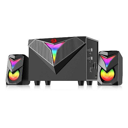Caixas de Som e Subwoofer Gamer Redragon Toccata RGB GS700
