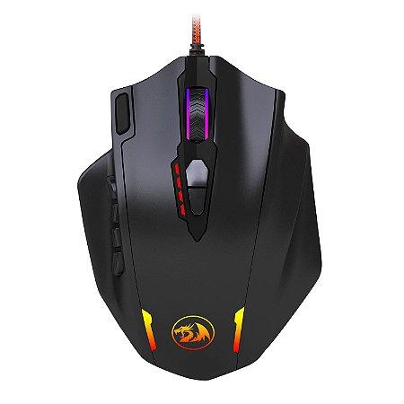 Mouse Gamer Redragon Impact RGB, 12400dpi - M908