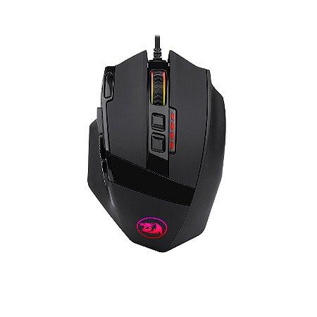 Mouse Gamer Redragon Sniper RGB 12400DPI 9 botoes M801 RGB
