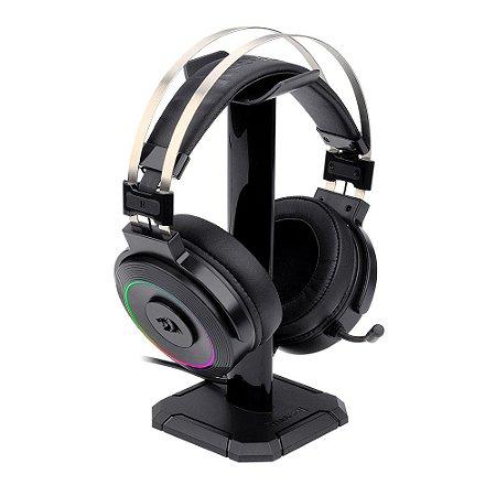 Headset Gamer Redragon Lamia2 H320-1 RGB, Surround 7.1, Preto