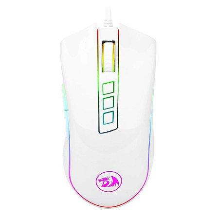 Mouse Redragon Cobra White Lunar 10000 DPI M711W