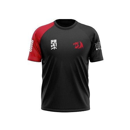 Linha Redragon Wear Outono 2020 - Camiseta Vermelha
