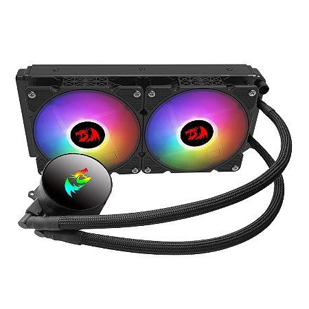 Water Cooler Redragon Effect X, 240mm, RGB, Intel-AMD, CCW-3000