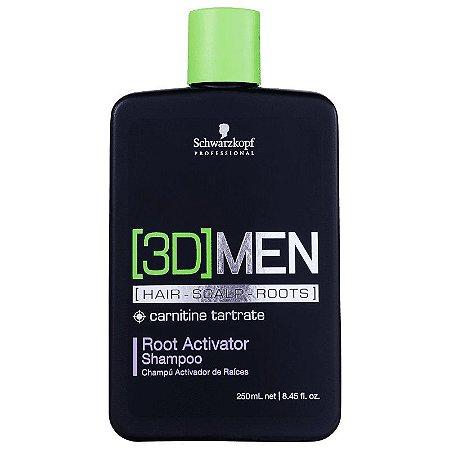 Schwarzkopf [3D] MEN Hair Scalp Root Activator 250ml