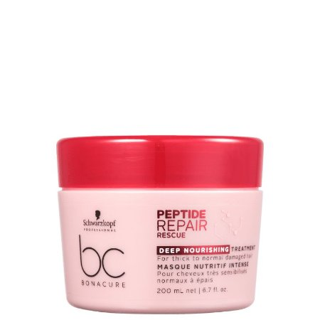 Schwarzkopf BC Bonacure Peptide Repair Rescue Deep Nourish Máscara 200ml