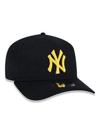 BONÉ 9FORTY A-FRAME MLB NEW YORK YANKEES - Black and Yellow