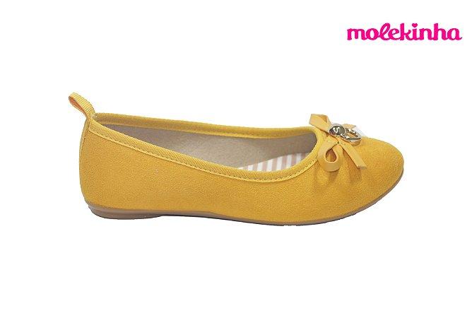 Sapatilha Infantil Molekinha 2502.364 - Amarelo
