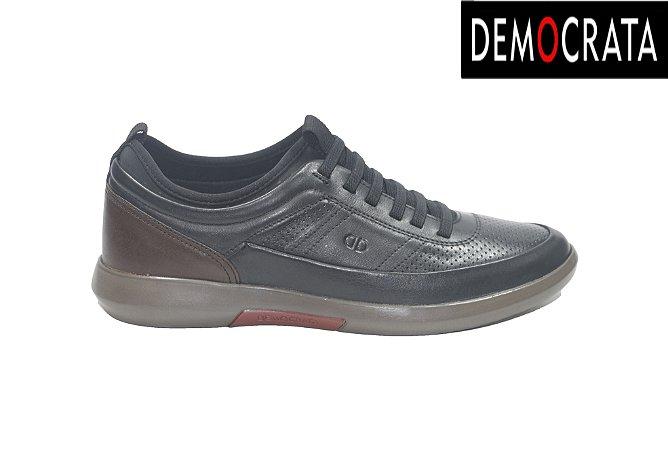 Sapato Social Masculino Democrata 245101 - Preto