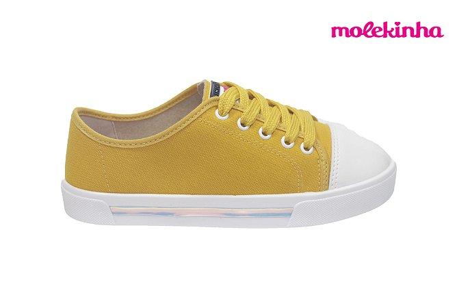 Tênis Molekinha 2524.316 - Amarelo