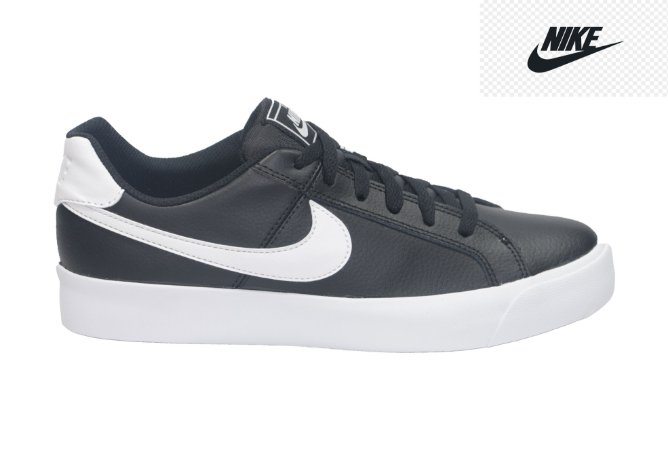 Tênis Masculino Nike BQ4222 - Court Royal - Preto