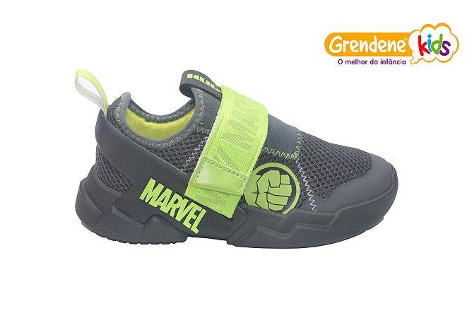 Tênis Infantil Marvel 22193 - Mania - Preto