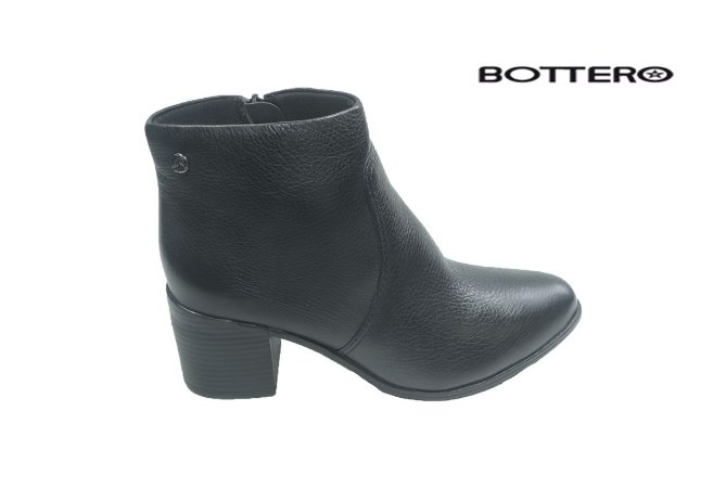 Bota Bottero c/b-s/a 314701 - Couro - Preto