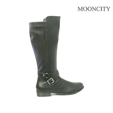 Bota Mooncity Montaria - 72081 - Preto