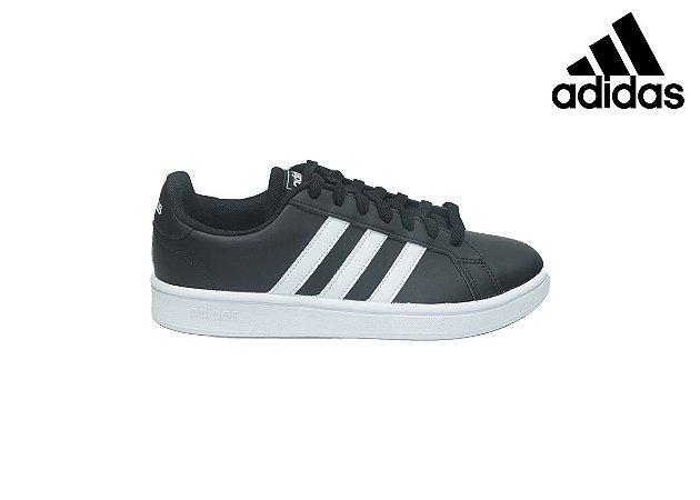 Tênis Adidas Masc EE7900 - GRANDCOURT - Preto