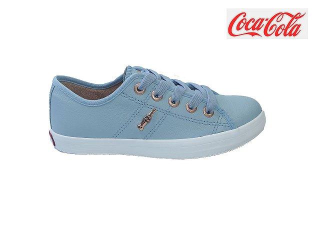 Tênis Coca-Cola Feminino CC1753 - Celeste