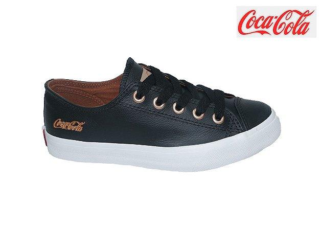 Tênis Coca-Cola Feminino CC1754 - Preto