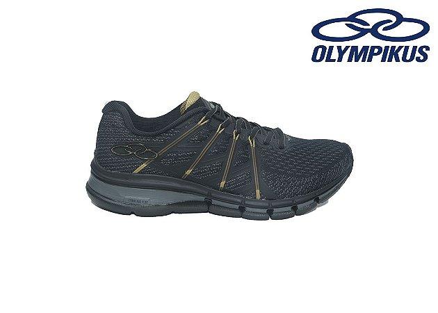Tênis Olympikus Masculino 715 - Difusse3 - Preto