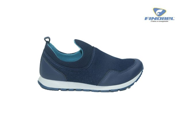Tênis Finobel Infantil Masculino SPA15.7815 - Navy