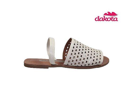 Sandalia Rasteira Dakota Z7311 - Bege